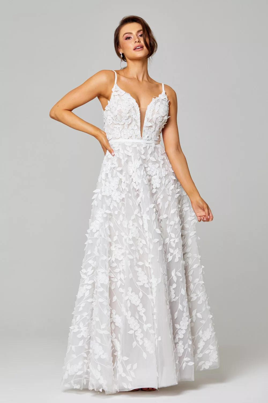 Amy Wedding Dress by Tania Olsen - Vintage White