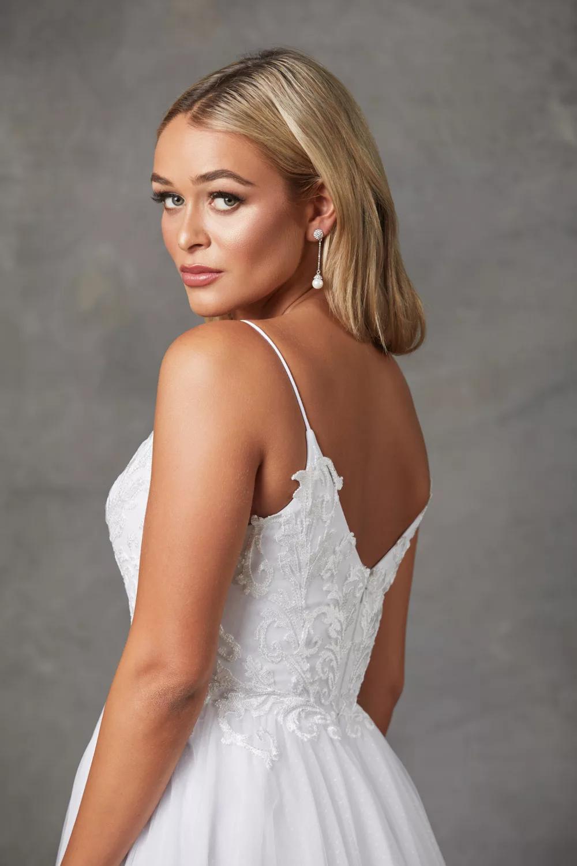 Aubriel Wedding Dress by Tania Olsen - Vintage White
