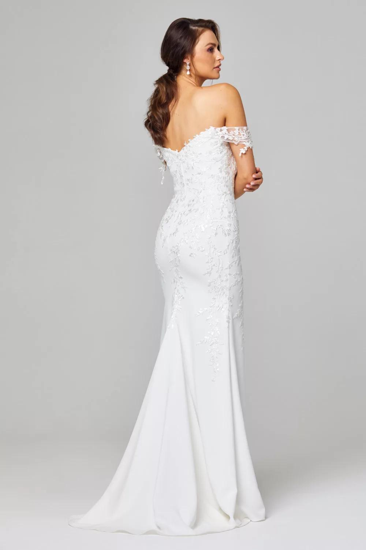 Daria Wedding Dress by Tania Olsen - Vintage White
