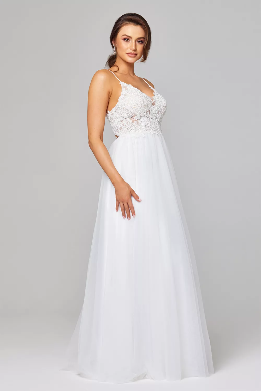 Marta Wedding Dress by Tania Olsen - Pure White