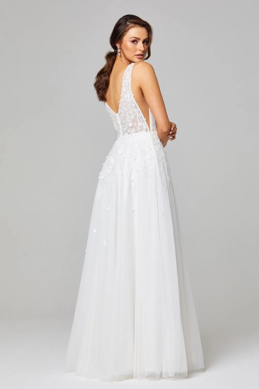 Zara Wedding Dress by Tania Olsen - Vintage White