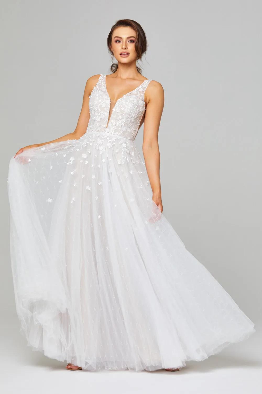 Zara Wedding Dress by Tania Olsen   Vintage White