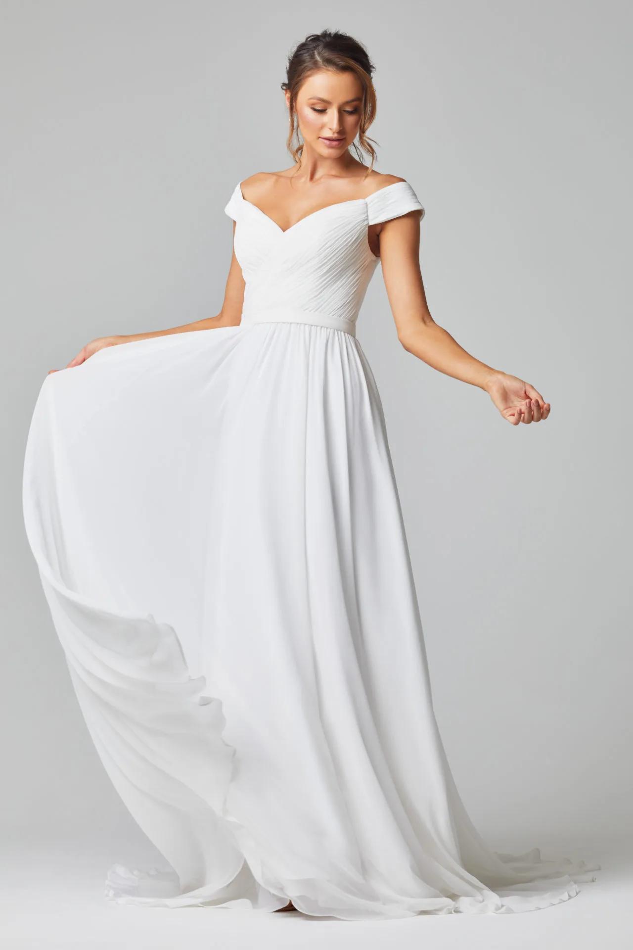 Annabelle Wedding Dress by Tania Olsen - Vintage White