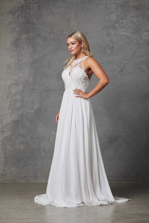 Kingsley Wedding Dress by Tania Olsen - White