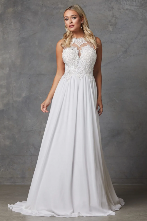 Kingsley Wedding Dress by Tania Olsen - White