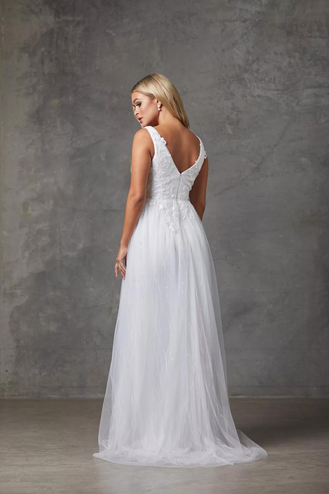 Liv Wedding Dress by Tania Olsen - White