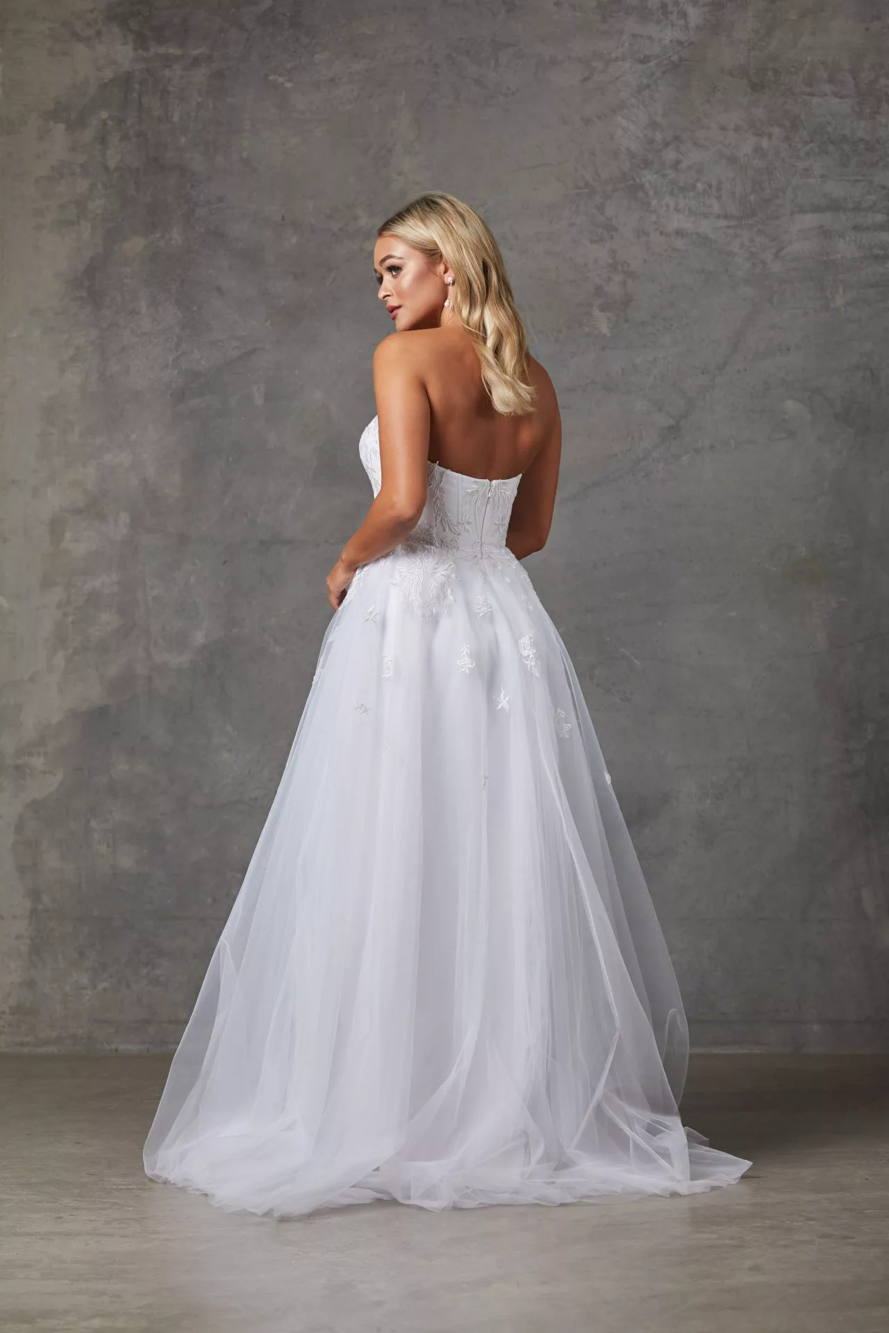 Louisa Wedding Dress by Tania Olsen - White