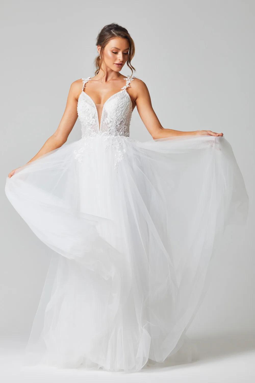 Mia Wedding Dress by Tania Olsen - Vintage White
