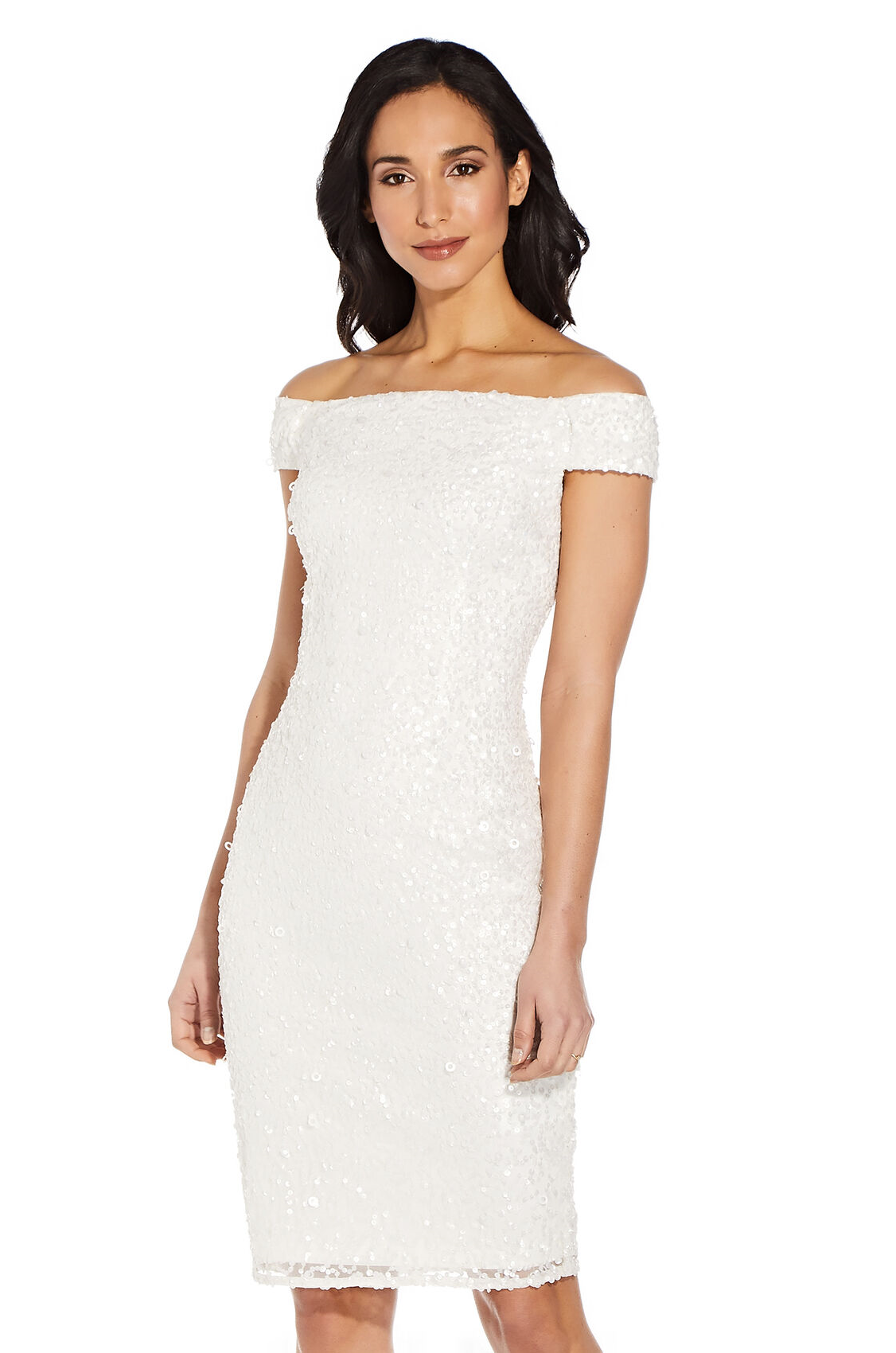 Caitlyn Reception Dress by Adrianna Papell - Ivory