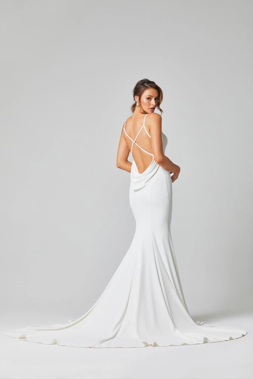 Alice Bridal Gown - Vintage White