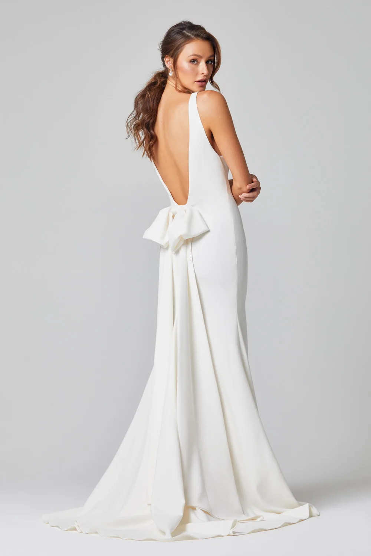Celeste Wedding Dress by Tania Olsen - Vintage White