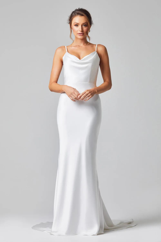 Grace Wedding Dress by Tania Olsen - Vintage White