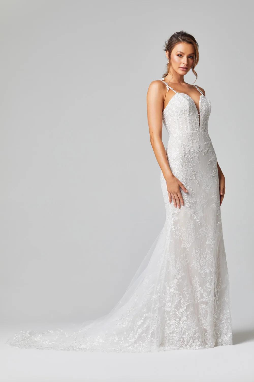 Juliet Wedding Dress by Tania Olsen - Vintage White